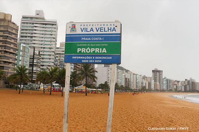 Chiabai quer ampla divulgação sobre balneabilidade em praias de Vila Velha