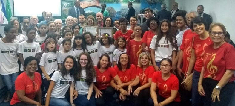 Convite de Chiabai vira Cantata de Natal na CMVV