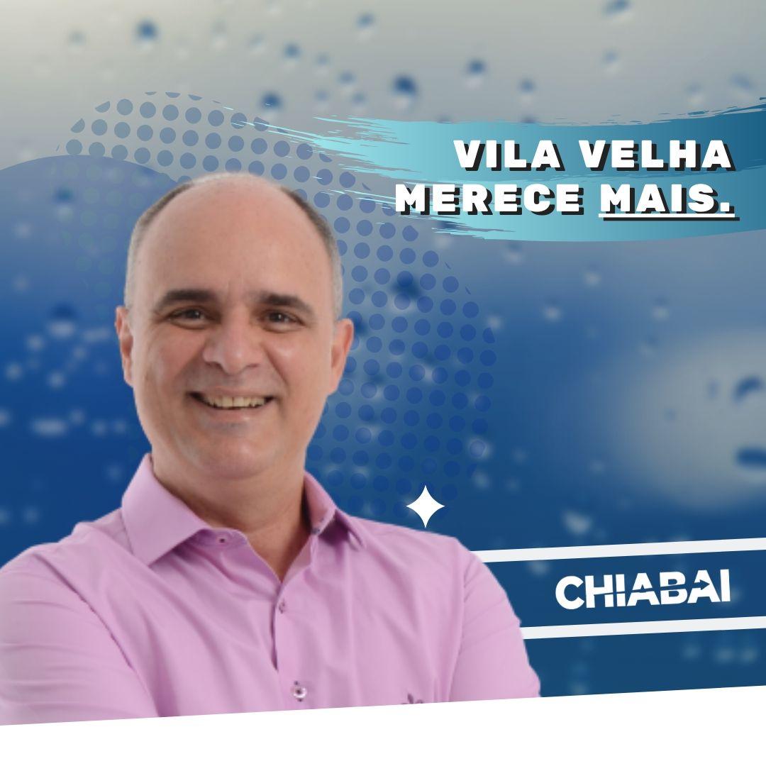Chiabai confirma pré candidatura para prefeito de Vila Velha