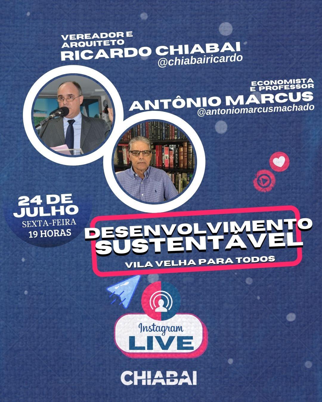 LIVE: Desenvolvimento Sustentável   Vila Velha para todos
