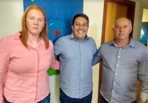Bruno garante parceria com Vargem Alta