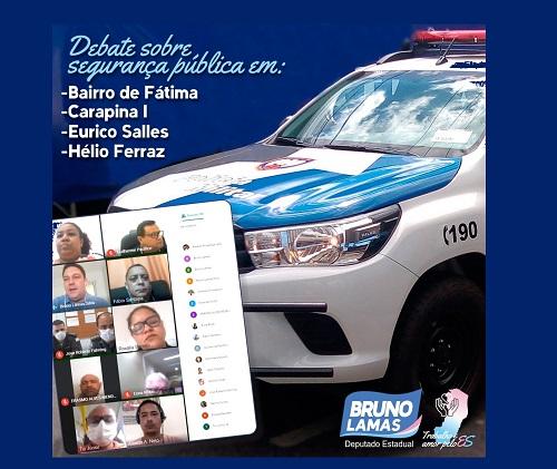 Bruno cobra e polícia faz blitz para reduzir assaltos e roubos de  carro na Grande Bairro de Fátima