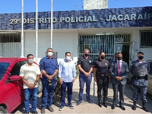 Bruno traz cúpula da Segurança para reduzir violência na Grande Jacaraípe