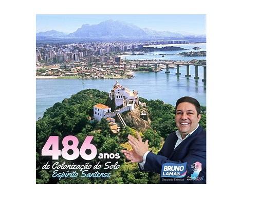 Bruno Lamas celebra a Colonização do Solo Espírito-Santense