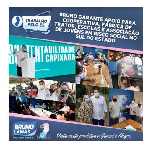 Bruno faz visita ao Sul do Estado e promete ajuda com emendas e auxílio para liberação de obras e equipamentos