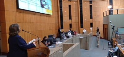 Esesp participa de reunião extraordinária na Assembleia Legislativa do ES