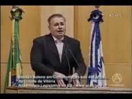 Ricardo Chiabai - Parte do pronunciamento do prefeito da Capital Luciano Rezende.