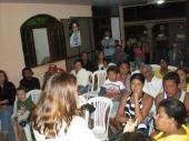 Plenária na casa do amigo João Martins