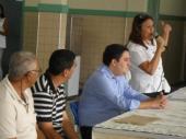 Visita à EMEF Amélia Loureiro Barroso