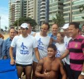"""Inauguração do Projeto """" Praia Legal """" em Vila Velha"""