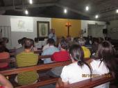 Apresentação do Projeto Calçada Legal  para os moradores do bairro Praia de Itaparica