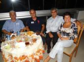 Reunião de campanha na casa do amigo João Paulo e Elaine