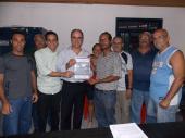 Reunião da Associação de Moradores de Coqueiral de Itaparica - Entrega do Relatório da Ação Integrada de Fiscalização