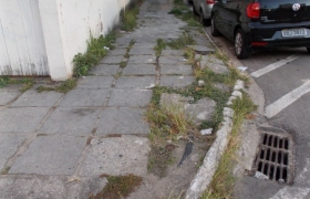 Calçadas Irregulares em Vila Velha