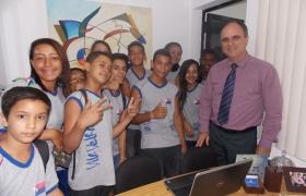 """""""Escola na Câmara"""" - UMEF Dr. Tuffy Nader"""