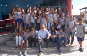 """""""Escola na Câmara""""- UMEF Gov Cristiano Dias Lopes Filho"""