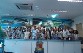 """""""Escola na Câmara"""": UMEF Prof. Rubens José Vervloet Gomes (Vila Olímpica) - 09/06/2015 - 2ª visita"""