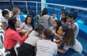 """""""Escola na Câmara"""": UMEF Prof. Rubens José Vervloet Gomes (Vila Olímpica) - 23/06/2015 - 3ª visita"""