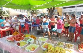 Comemoração na Praia da Costa pelo Dia do Idoso - 02/10/2015