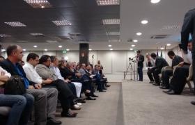 Debate ES Brasil com prefeitos da Grande Vitória no Auditório da Findes - 06/10/2015
