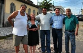 Porto Canoa recebe obras de drenagem e pavimentação