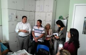 Visita a Escola Belmiro Teixeira