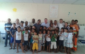 visita a entidade Vovô Chiquinho em Central Carapina