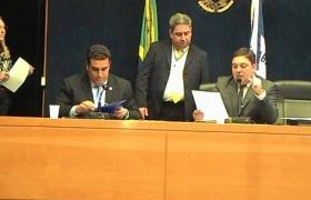 Comissão Especial que vai auditar os contratos dos Programas Bom de Bola I e II