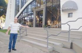 Vistoria do Teatro Municipal de Vila Velha