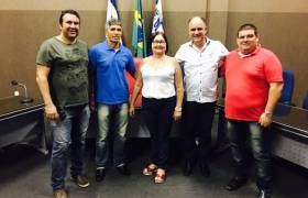 Visita a Câmara de Piúma -  Vereador Giovani (PMN)