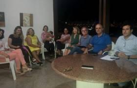 Reunião sobre segurança pública no Centro