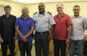 Reunião da Comissão de Segurança Pública da CMVV no 4º Batalhão - Vila Velha