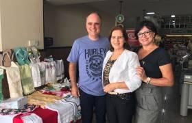Visita ao projeto Atelier Solidário no Vila Fruti