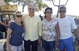 Homenagem às mães da Hidroginástica da Praia na Costa