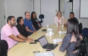 Reunião com secretaria de Assistência Social de Vila Velha