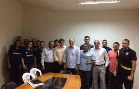 Reunião da Comissão de Segurança Pública da CMVV com Comissão do Cadastro de Reserva do Concurso da Guarda Municipal-2014