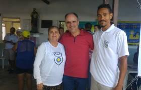 Ação Comunitária na Sede da Colônia de Pesca Z2