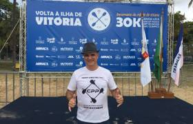 Competição esportiva 'Volta à Ilha de Vitória'