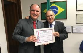 Visita ao senador Cristovam Buarque (PPS-DF)