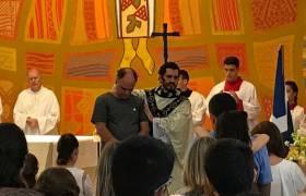 Missa de Adoração a Nossa Senhora de Aparecida Igreja Praia da Costa