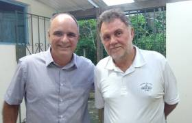 Reunião na Avidepa - Associação Vila-velhense de Proteção Ambiental
