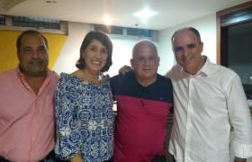Planejamento Estratégico da Pré-Campanha de Deputado Estadual 2018 com os Colaboradores de Vitória