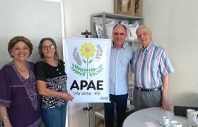 Visita à APAE - Vila Velha