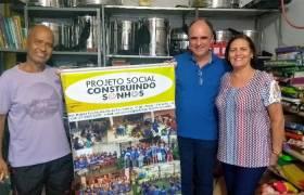 """Visita ao projeto """"Construindo Sonhos"""" da Igreja Batista de Guaranhuns"""