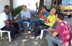 Visita ao bairro Santa Rita, Vila Velha