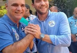 Lançamento de candidatura de Edmar Camata na Praia da Costa, Vila Velha