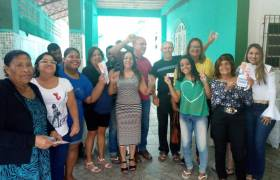 Visita ao bairro Ilha das Flores, Vila Velha