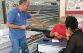 Visita aos comerciantes de Itapuã, Vila Velha
