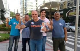 Panfletagem em Vila Velha