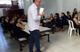 Visita à indústria em Jardim Marilandia, Vila Velha